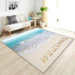 Rectangle Beach Carpet