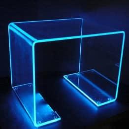 Glowing Acrylic Table Display