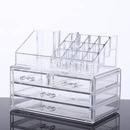 Transparent Organizer Display