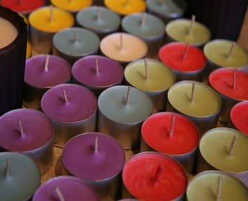 Color Quality Control Candle