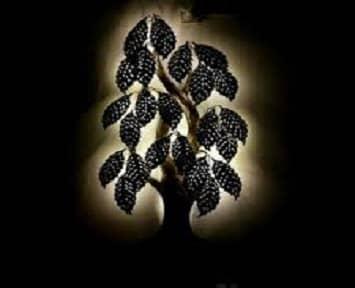 LED Light Metal Tree