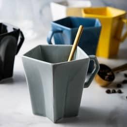 Modern Shapes Ceramic Mug