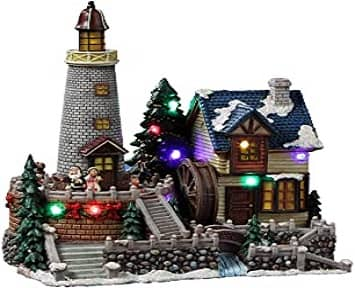 Musical Animated Santa's Christmas Village f