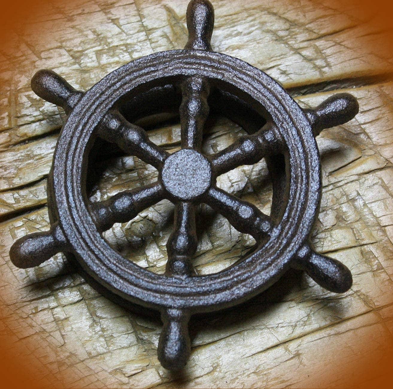 Ships Wheel Door Knocker