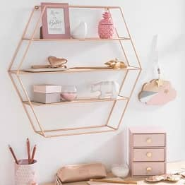 home accessories rose gold