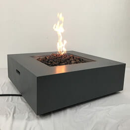 electric fire pit table