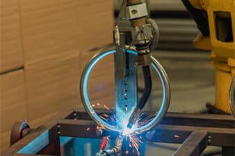 Fire Pit Mechanized welding
