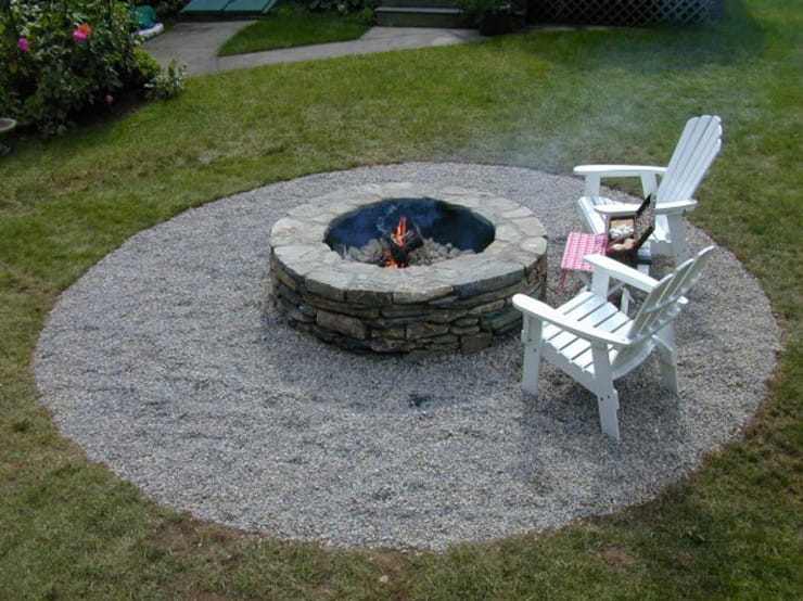 A Typical Fire Pit