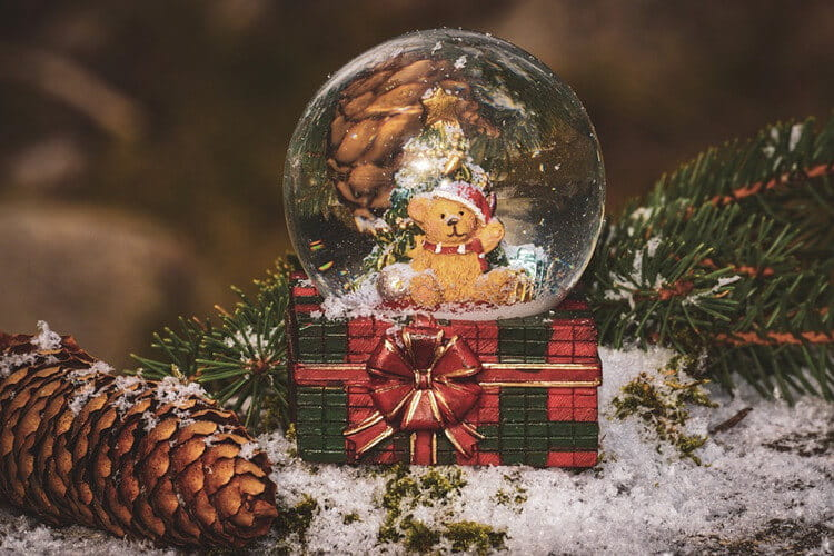 christmas snow globe for decoration