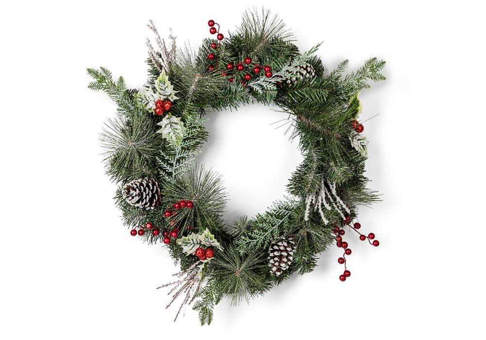 Christmas Wreath CAX20024