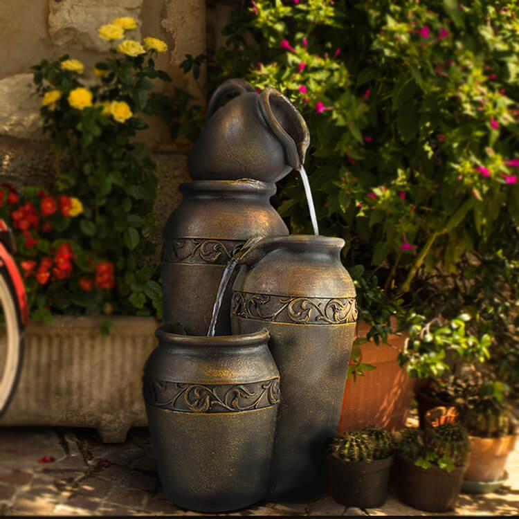 Garden Water Fountain for Decor