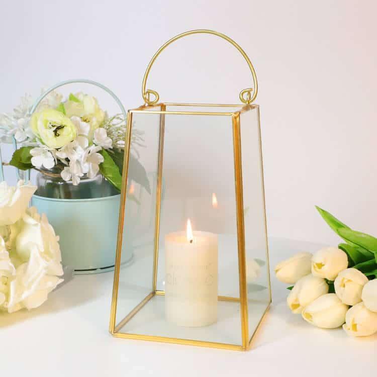 Glass Terrarium Candles Holder for Decor