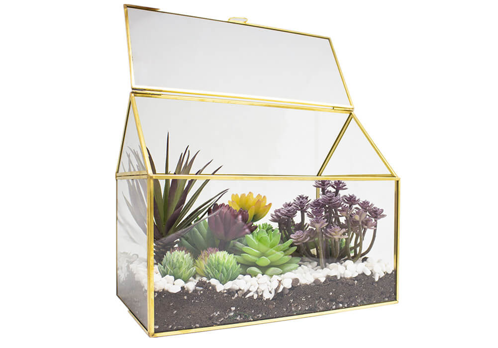 Glass Terrarium for Decor G008-17