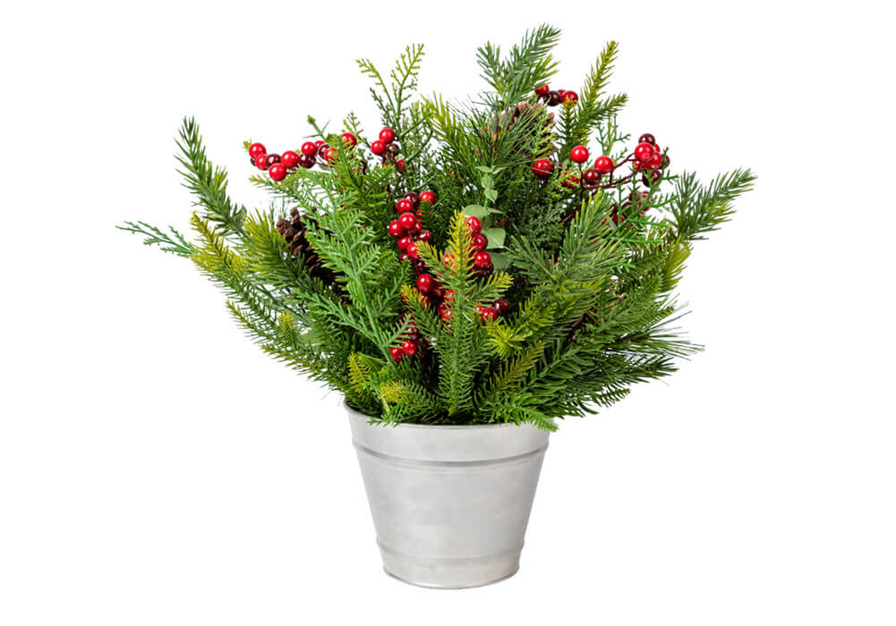 Potted Artificial Christmas Plants CAX0381