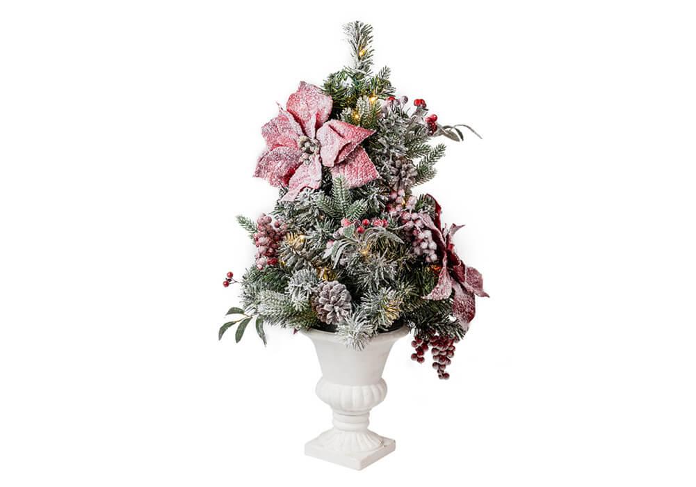 Pre-lit Christmas Urn Filler CAX0282