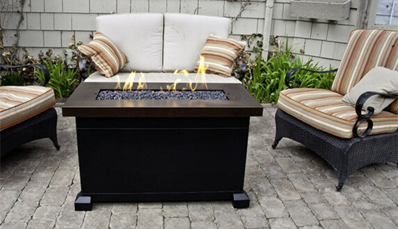 Propane Fire Pit Table for Garden