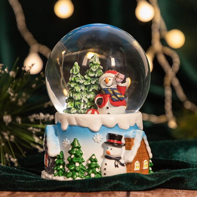 Snowman Globe for Holiday Decor