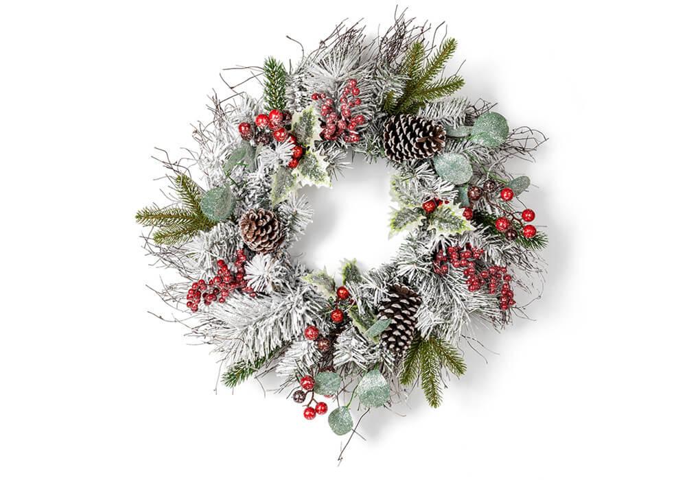 Beautiful christmas wreaths CAX0189