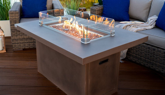 best fire pits table