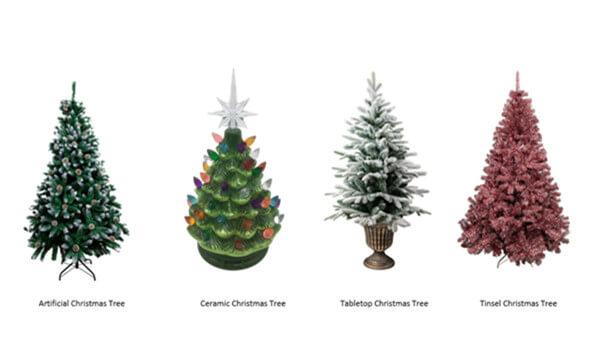 christmas tree styles