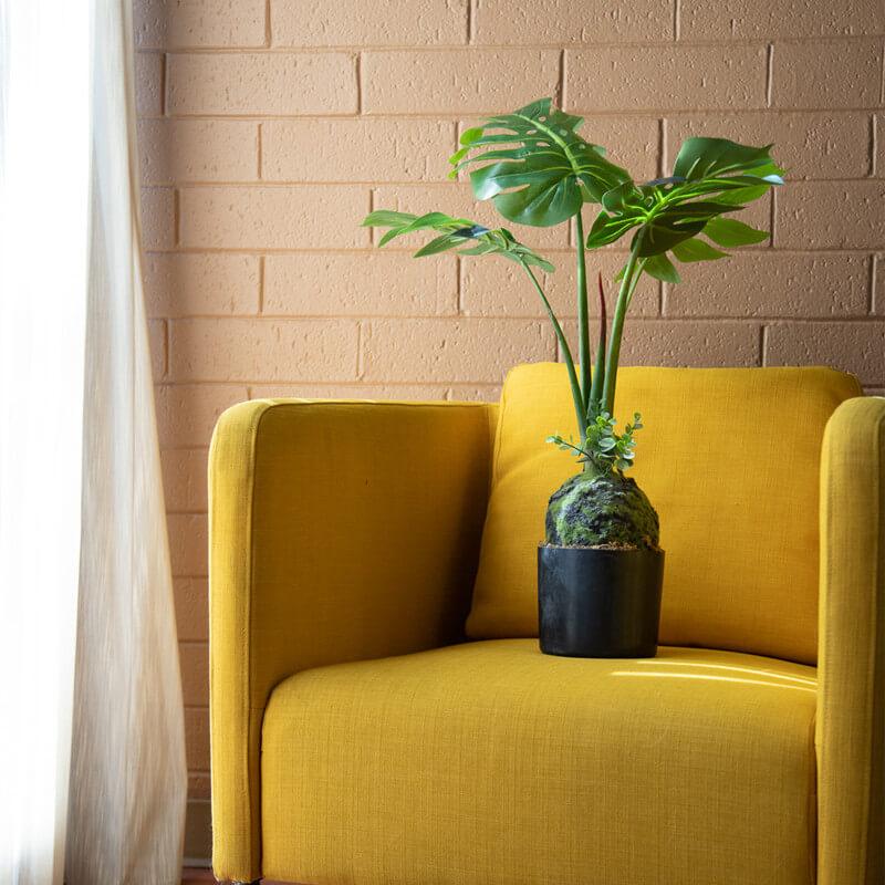 Artificial Plants Interior Decor