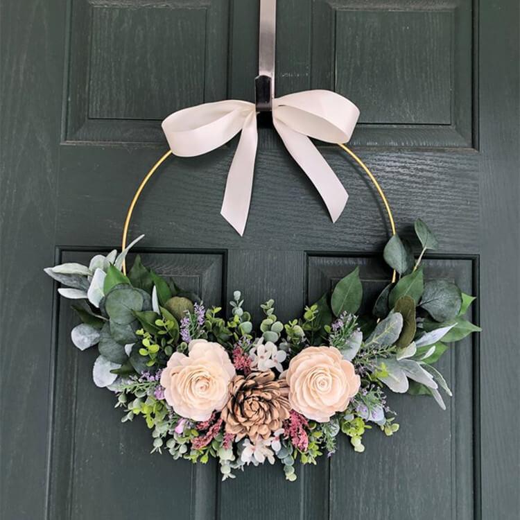 Door Flowers Wreaths