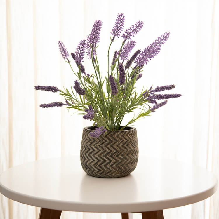 Fake Purple Flowers for Home