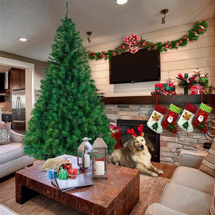 Fiber Optic Artificial Christmas Pine Tree