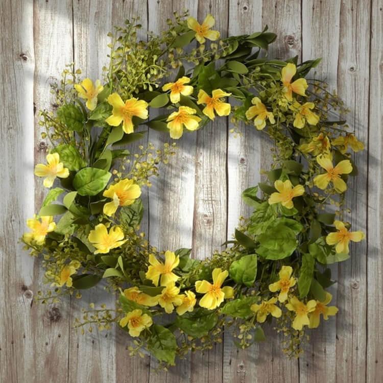 Flowers Wreath for Decor