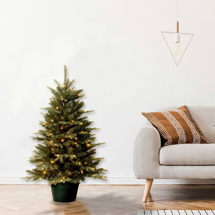 Green Pine Artificial Christmas Tree