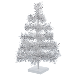 Tinsel Christmas Trees for Design