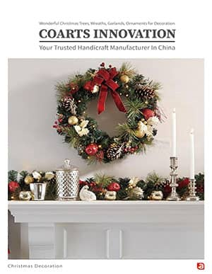 Co Arts Christmas Wreaths Garlands Catalog Cover