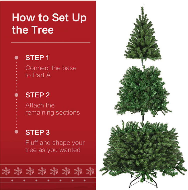 How to set uo the tree