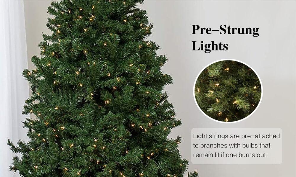 Pre-strung Lights