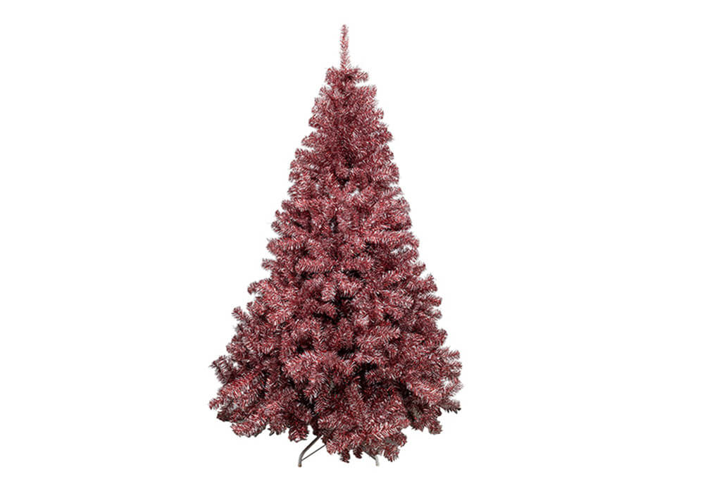 Red Tinsel Christmas Tree CAYF-T1475-6