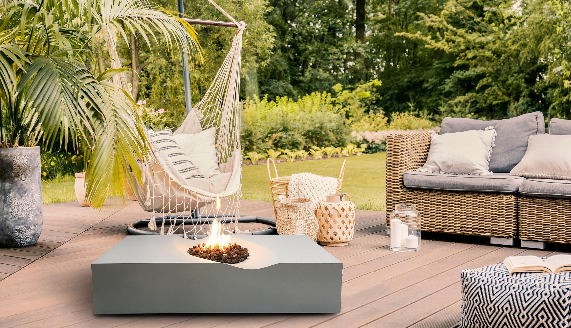 Fire Pit Table for Garden