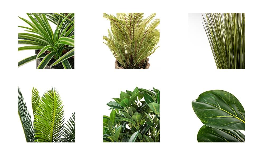 Artificial Plants Colors