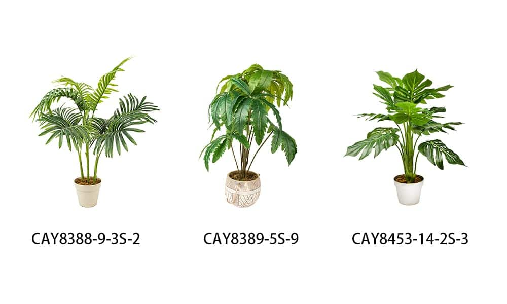 Artificial Trees Styles Selection