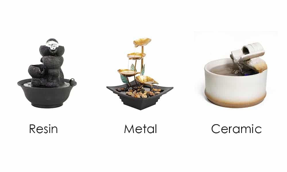 Fountain Material
