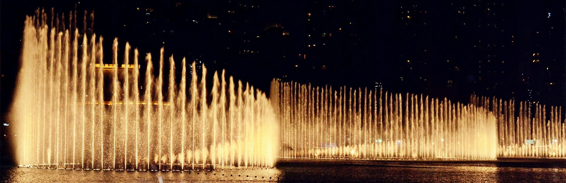 Musical Fountains Banner