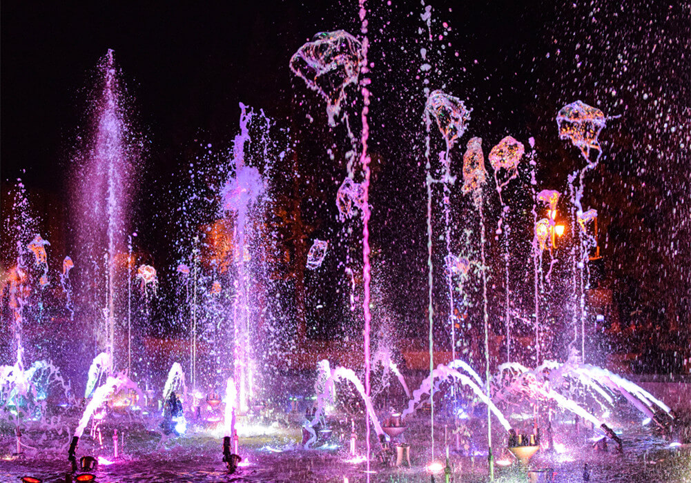 Outside Musical Fountains