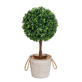 artificial topiary trees pic