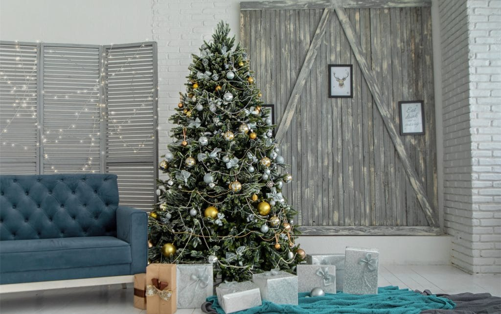 Artificial Christmas Tree Banner Blog
