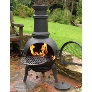 Figure 10 A Grill in a Chiminea