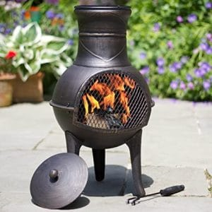 Figure 12 A chiminea with a built-in stand