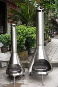 Figure 4 Steel Chiminea