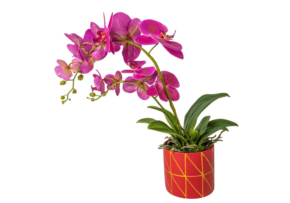 Purple Artificial Orchids CABHG20027