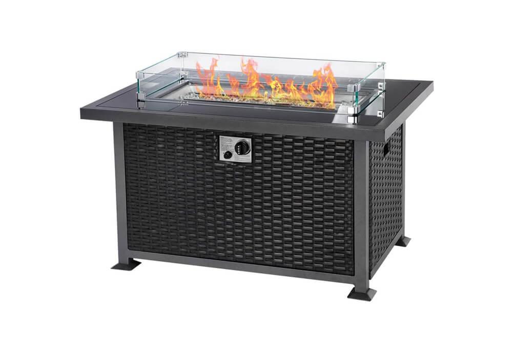 Wicker Fire Pit CA-FP1001