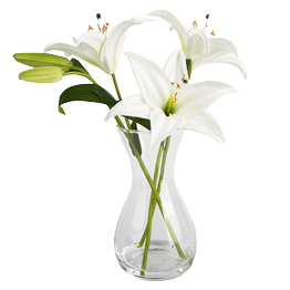 artificial lily flowers pic