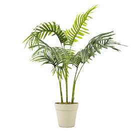 fake palm trees pic